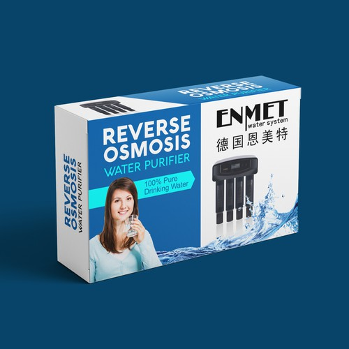 Reverse Osmosis Water Purifier Pack Design