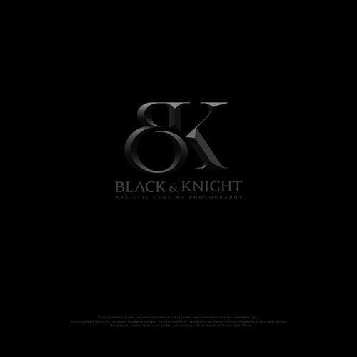 Black and Knight photogrphy logo