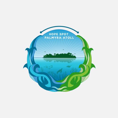 logo for hope spot palmyra atoll