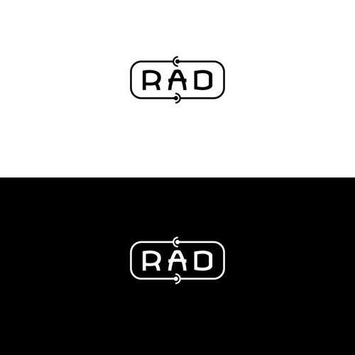 RAD logo design