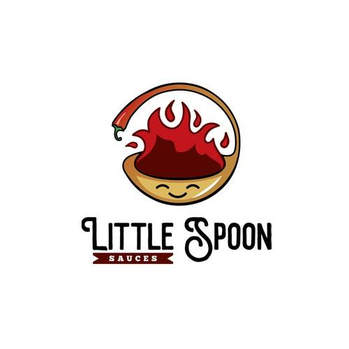 Youthful logo for a hot sauce company