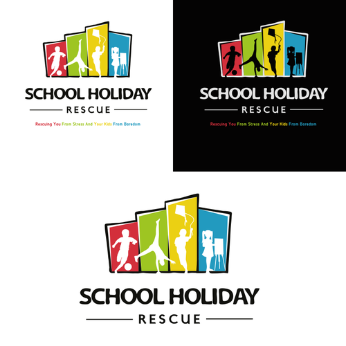 Design a logo for Australia's #1 School Holiday website for parents