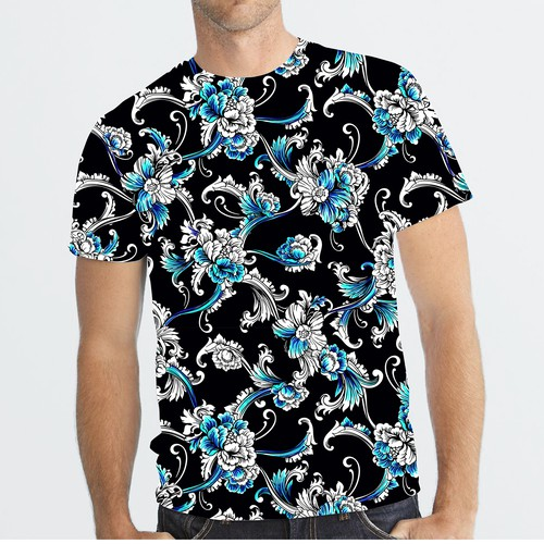 Allover Pattern Tshirt Design