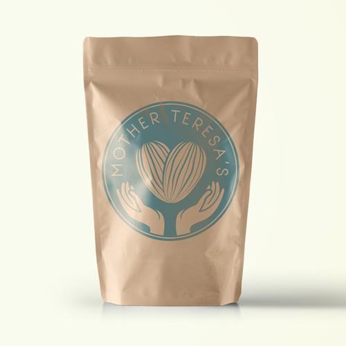 Logo Concept for Almond Milk Brand