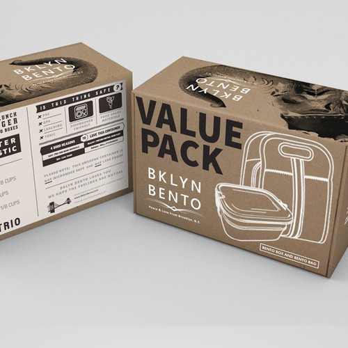 Packaging design for Value pack