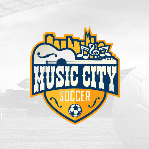 Bold and Playful Soccer Team Design