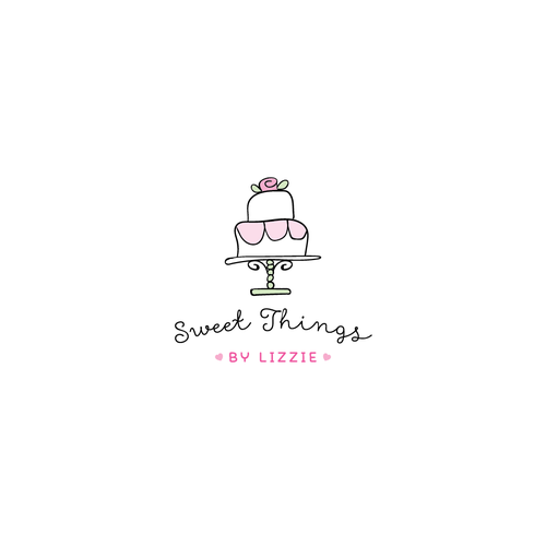 Wimsical Logo for Baking Website