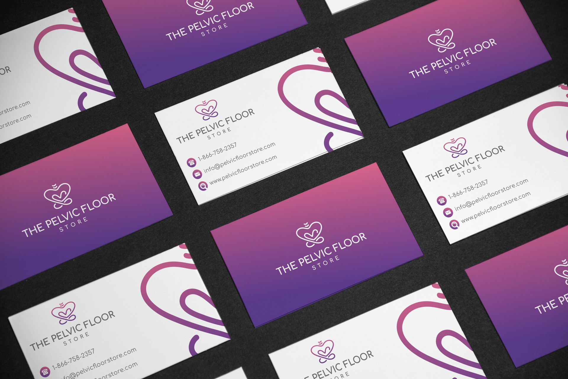 The Pelvic Floor Store Business Cards