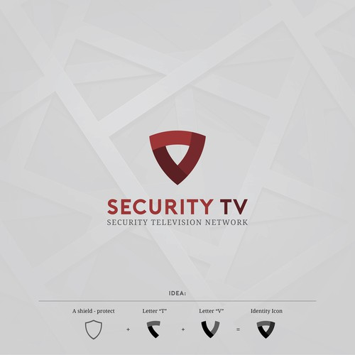 Logo concept for SERCURITY TV