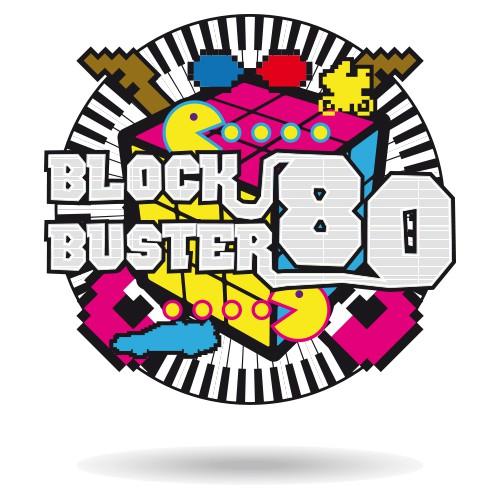BlockBuster 80 Logo
