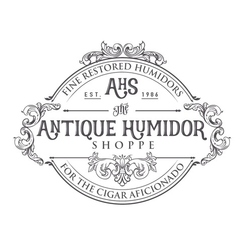 Antique Cigar Humidor Logo Competition