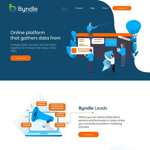 Homepage Data