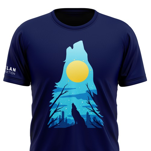 Whelan Construction Westcoast T-shirt Design