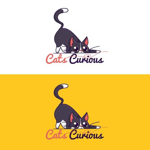 Logo for cat blog