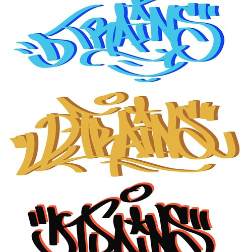 DTRAINS Graffiti Handstyles