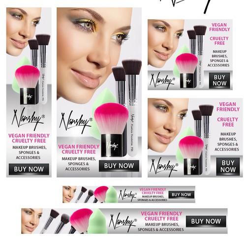 Banner ads for Nashny