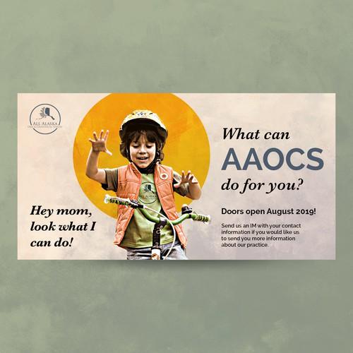 Social Media Ad for AAOCS