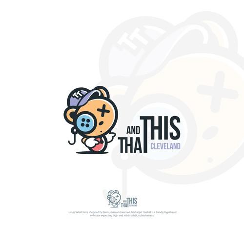 Logo design for luxury retail store