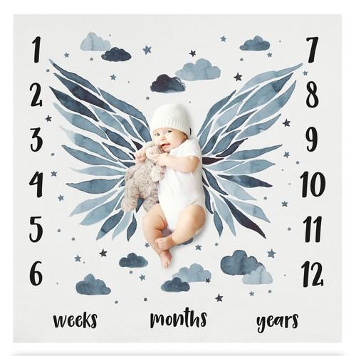 Baby milestoneblanket