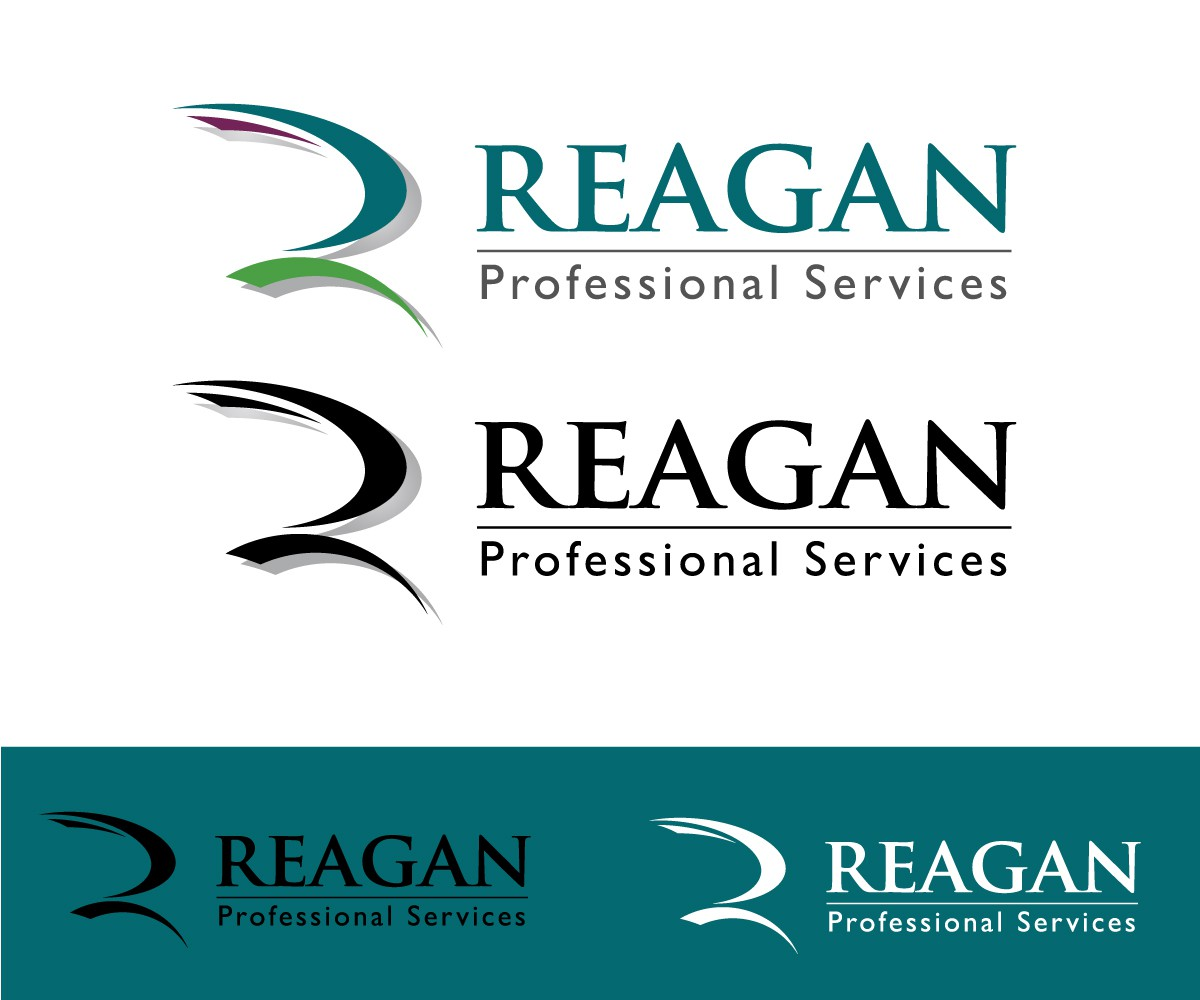 Help Reagan Professional Services with a new logo