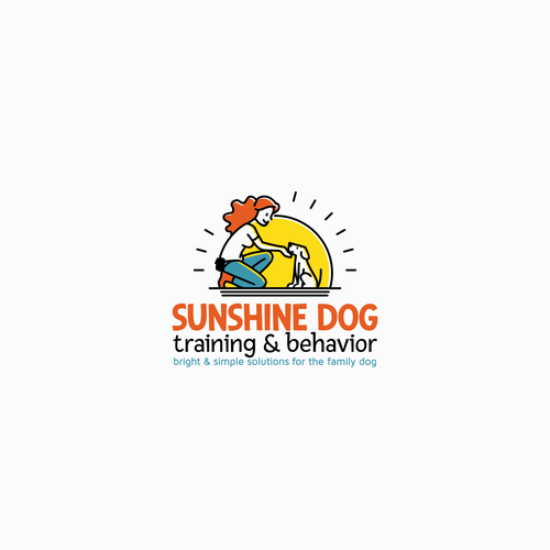 logo concept for dog training