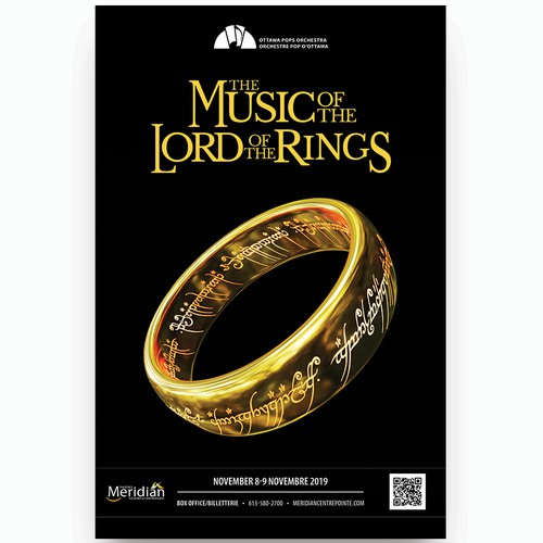 The Lord of the Rings Orchestra Poster