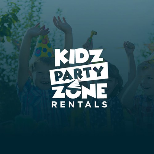 Logo for Kidz Party Zone Rentals