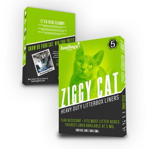 Ziggy Cat Litter Liners