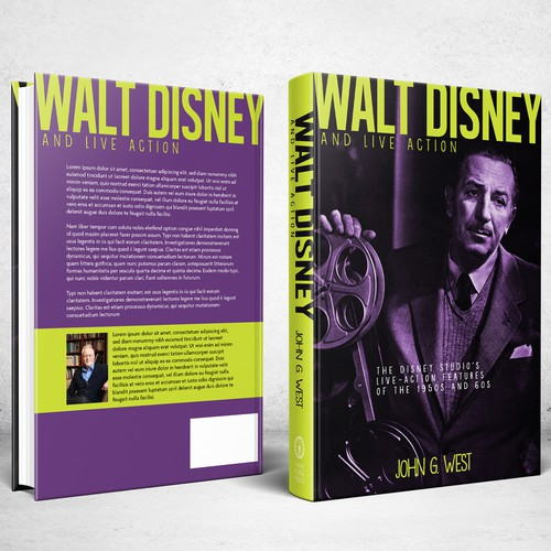 Book cover for Walt Disney And Live Action