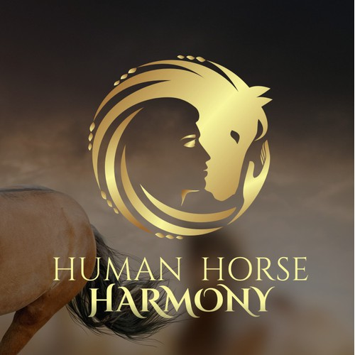 A person with a horse in harmony