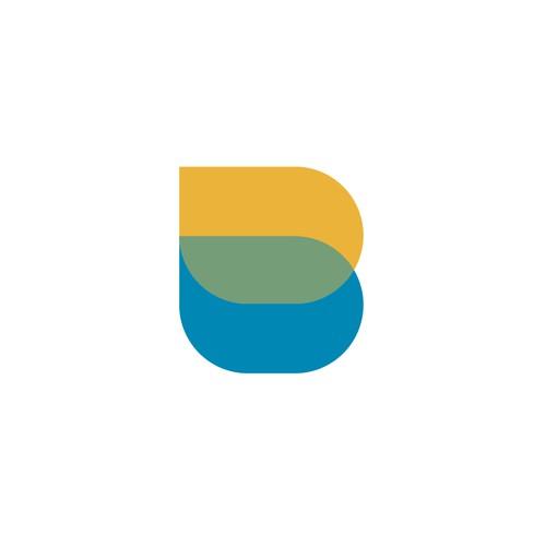 Simple B logo