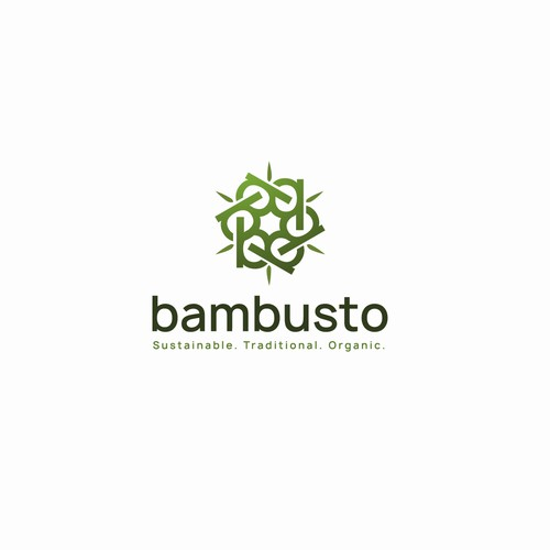environmentally cautious textile and home furnishing Logo