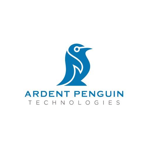 Logo concept for Ardent Penguin Tecnologies