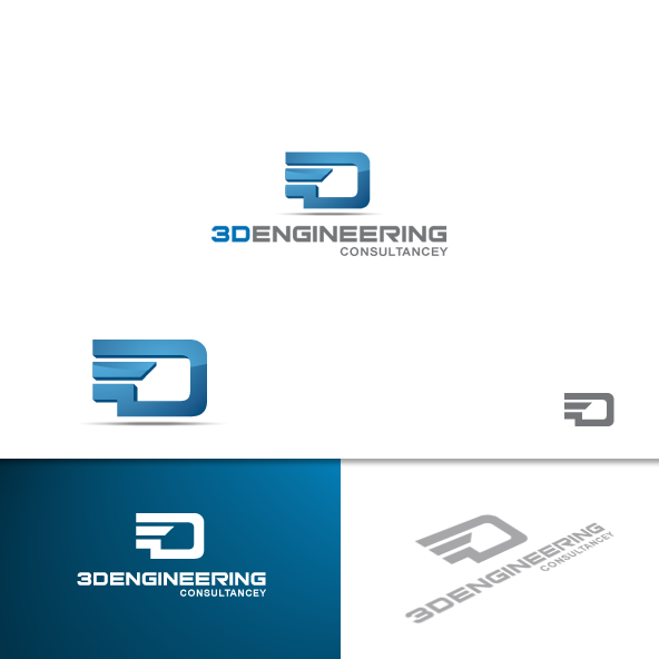 logo for 3D Engineering consultancey company