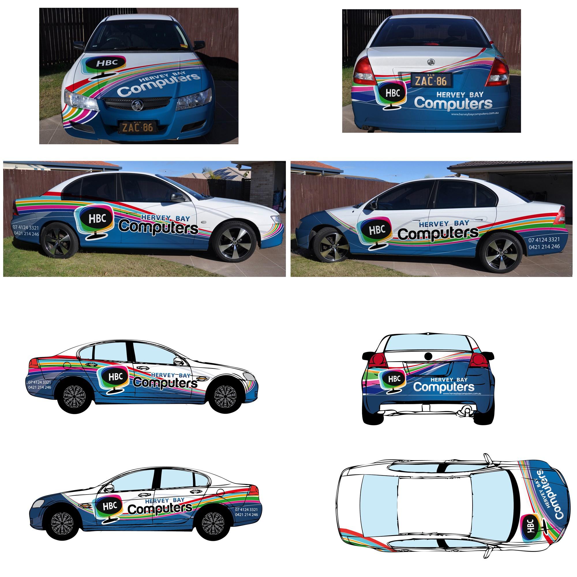 WANTED: Colourful, Eye-catching Car Wrap / Signage