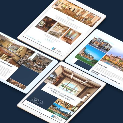 Sims Luxury Builders ebook