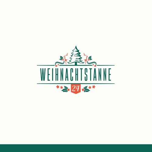 Logo Für Weihnachtstanne 24