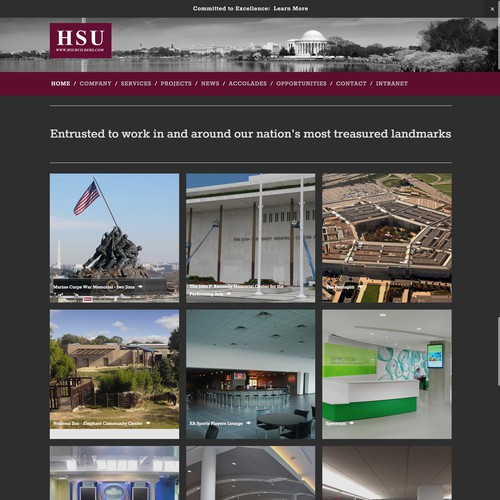 HSU Development - A Commercial Construction Firm Specializing In Federal Government Projects In The Mid-Atlantic Region