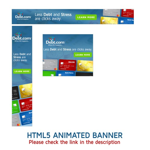 HTML5 Animated Banner