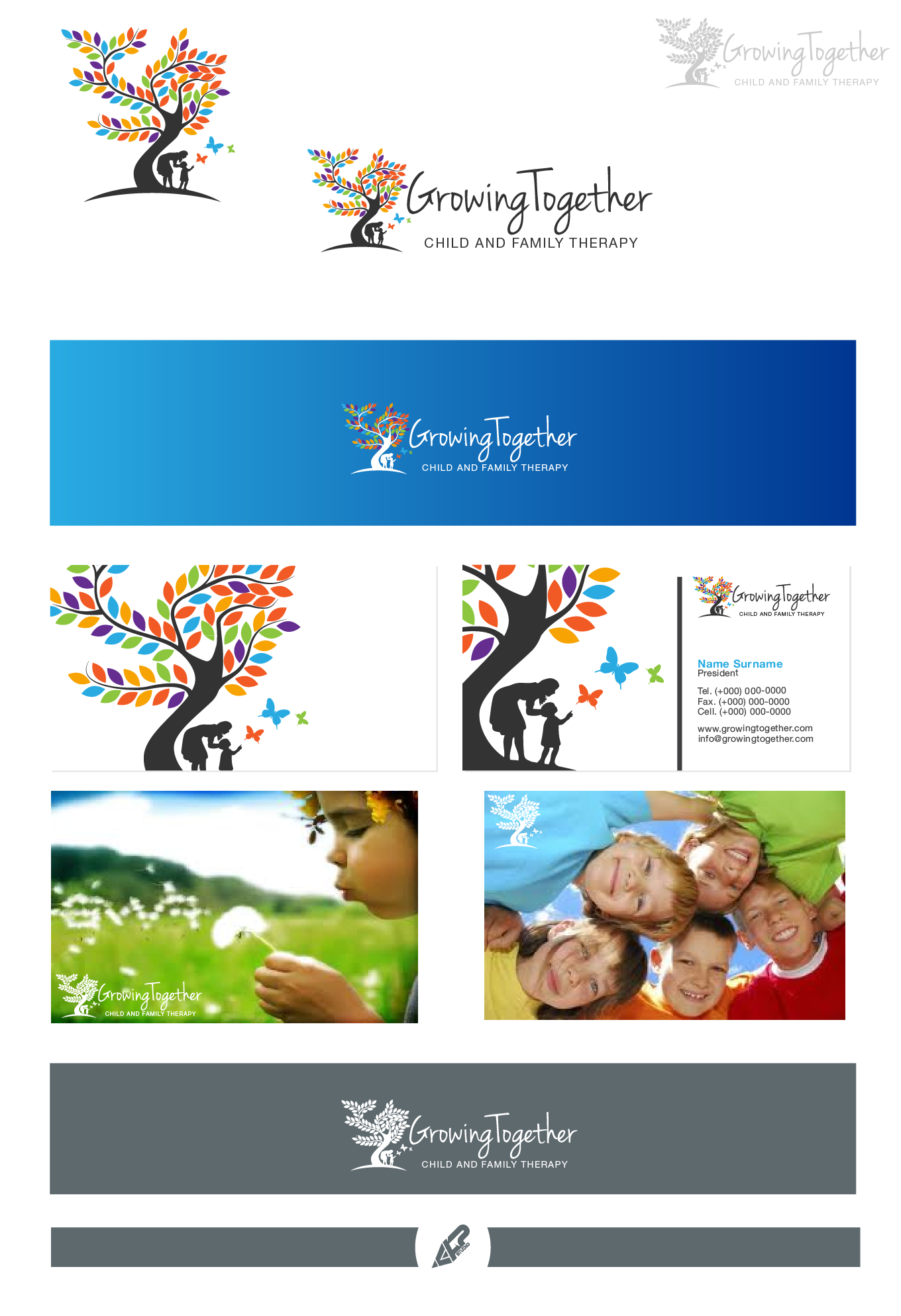 Growing Together Psychology needs a new logo