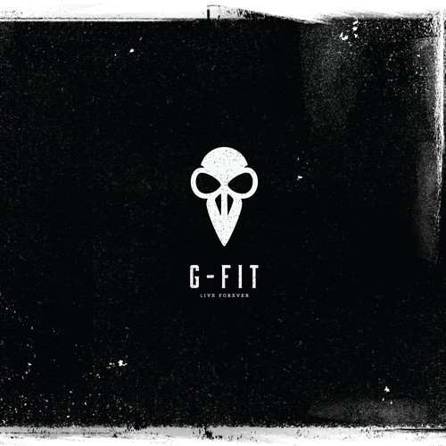 Inspirational/stylish logo for the fitness company G-FIT