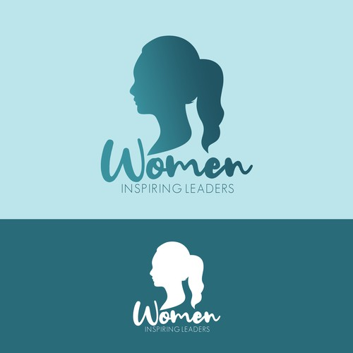 Women Inspiring Leaders Logo Design