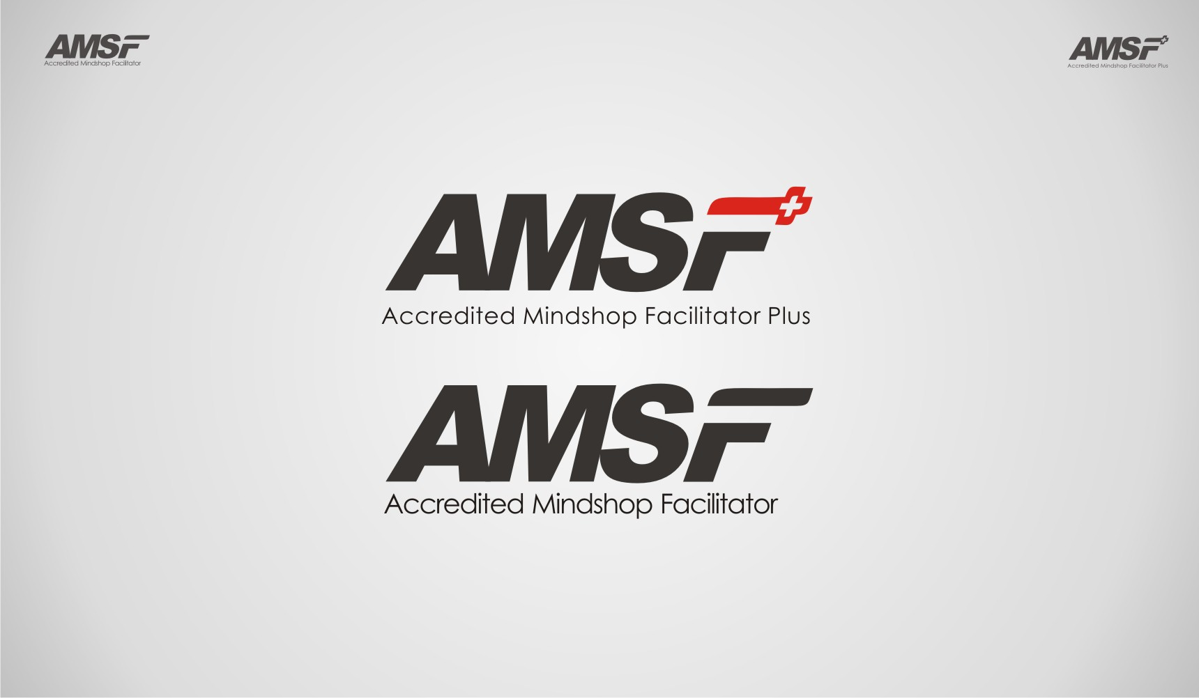 logo for 2 Versions of Logo - AMSF and AMSF PLUS