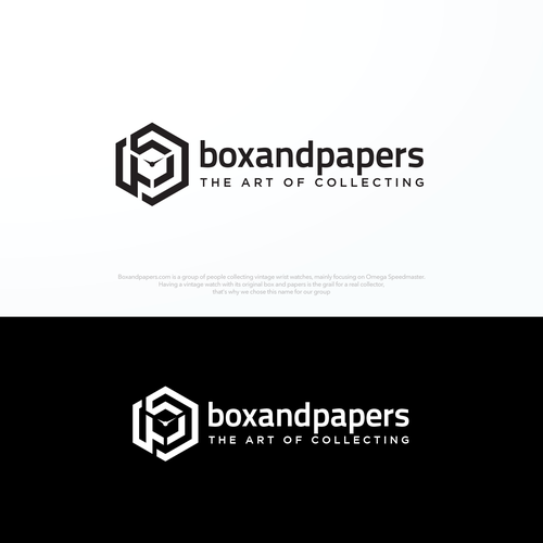 Sophisticated and Luxury Logo for Boxandpapers