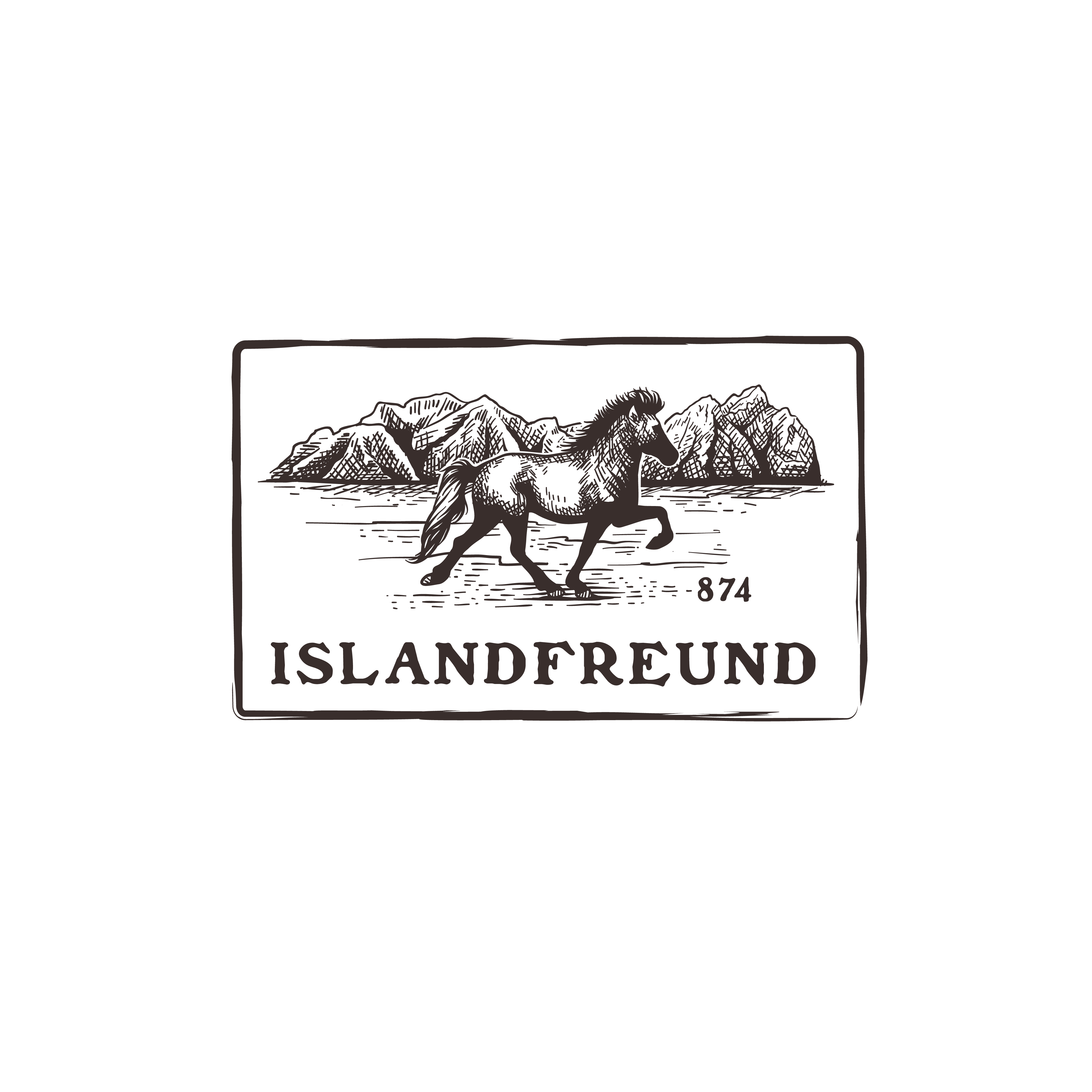 Icelandic Horse - Animal T-shirt Design in your personal visual style