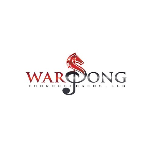 New logo wanted for War Song Thoroughbreds, LLC