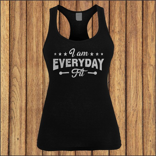 Women's Fitness Tank Top Design