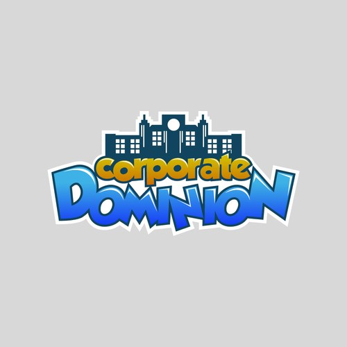 Youthful gaming logo for corporate dominion