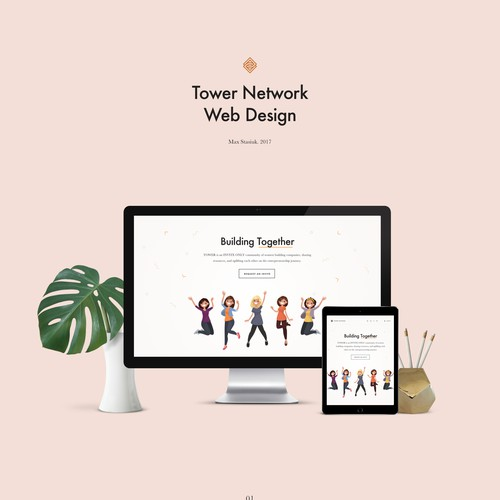 Tower Network Web Design