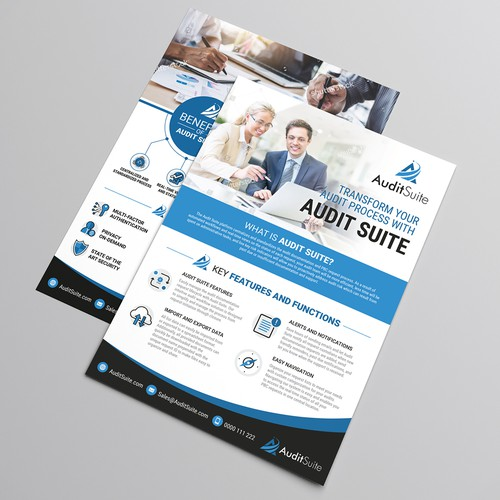 Audit Suite Brochure Design